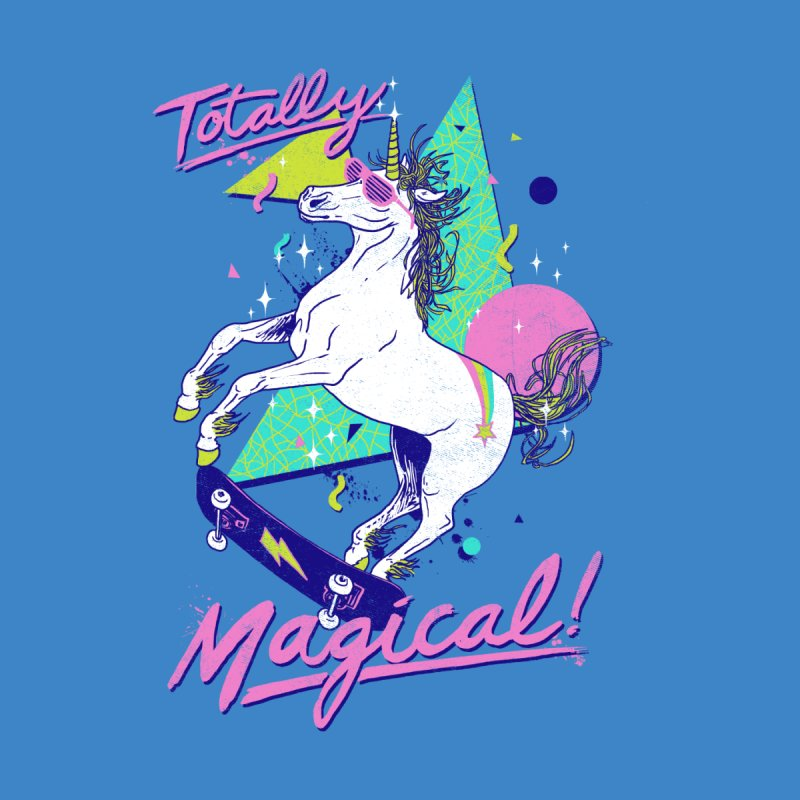 Totally Magical Men's T-Shirt by Hillary White Rabbit