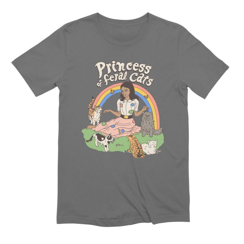 Princess Of Feral Cats 2 Men's T-Shirt by Hillary White