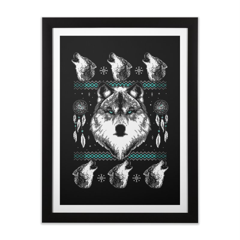 Merry Wolfmas   by hillarywhiterabbit's Artist Shop