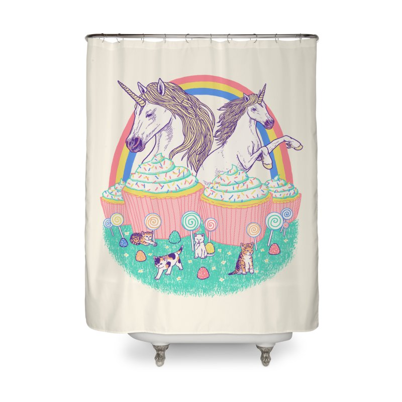 Incredible Land Of Sweetness Home Shower Curtain by Hillary White