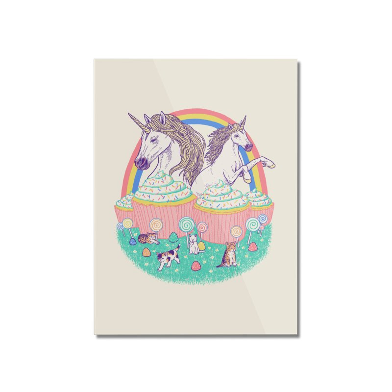 Incredible Land Of Sweetness Home Mounted Acrylic Print by Hillary White Rabbit