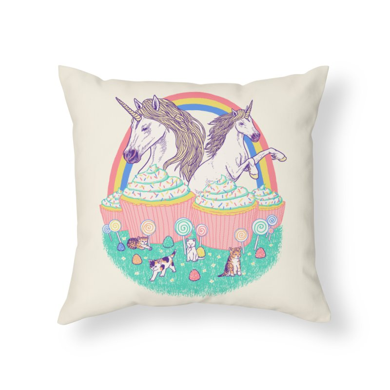 Incredible Land Of Sweetness Home Throw Pillow by Hillary White