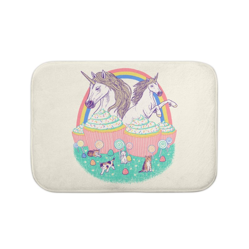 Incredible Land Of Sweetness Home Bath Mat by Hillary White Rabbit