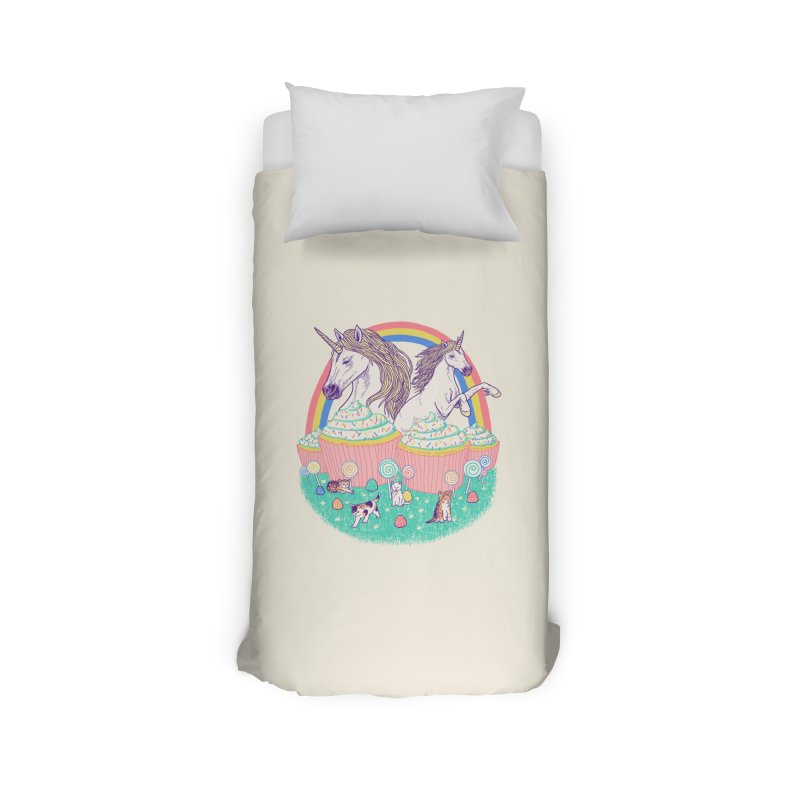 Incredible Land Of Sweetness Home Duvet by Hillary White Rabbit