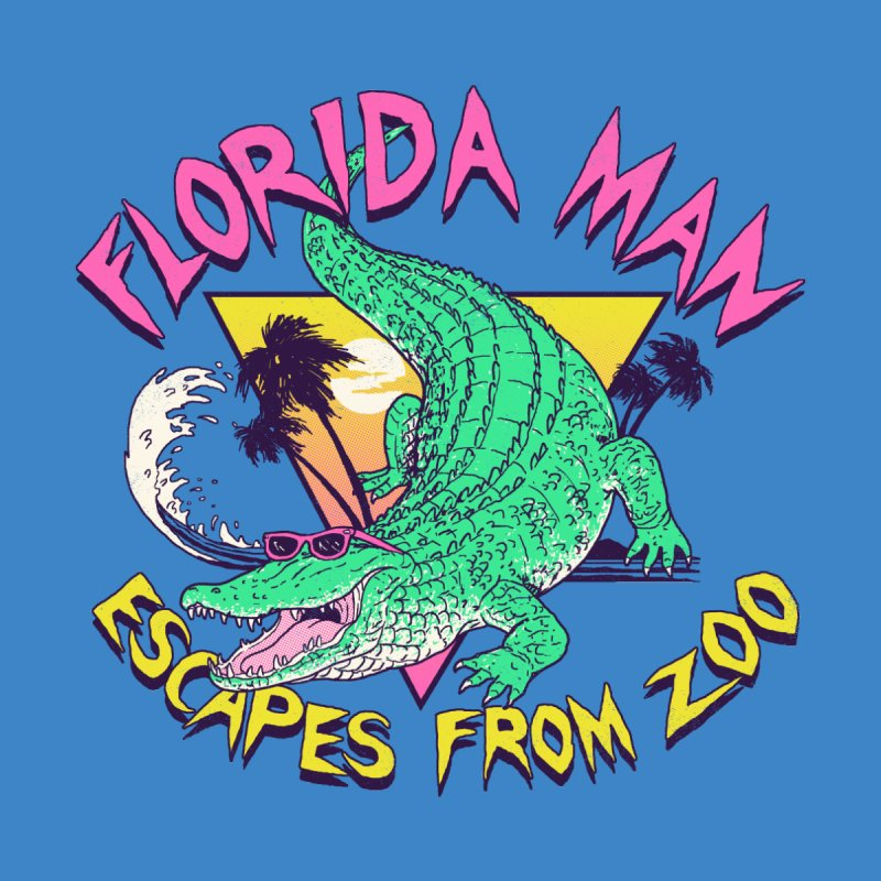 Florida Man Escapes From Zoo Home Blanket by Hillary White
