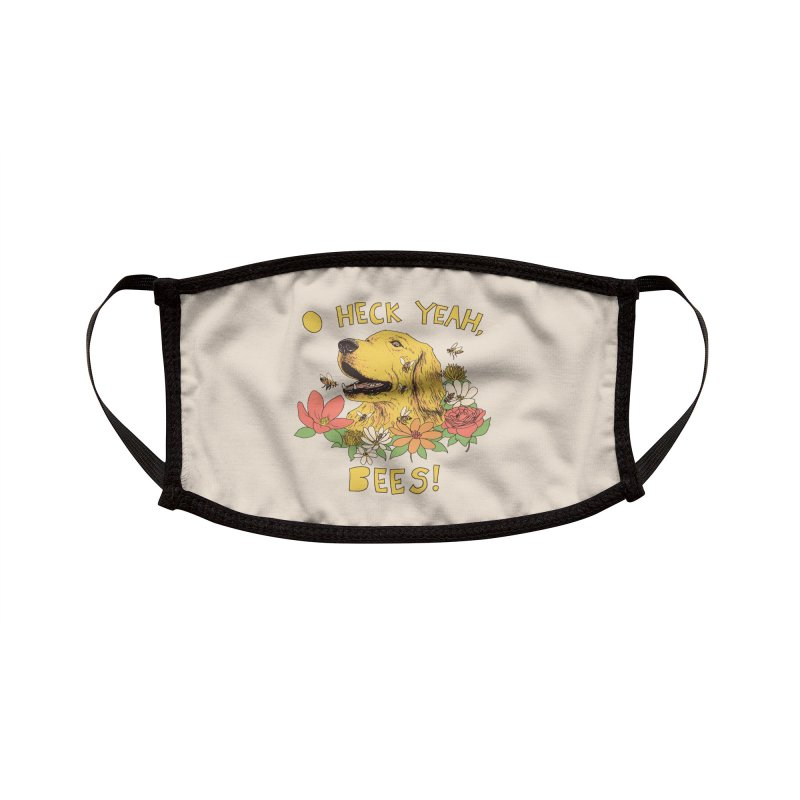 Spicy Dog Treats Accessories Face Mask by Hillary White