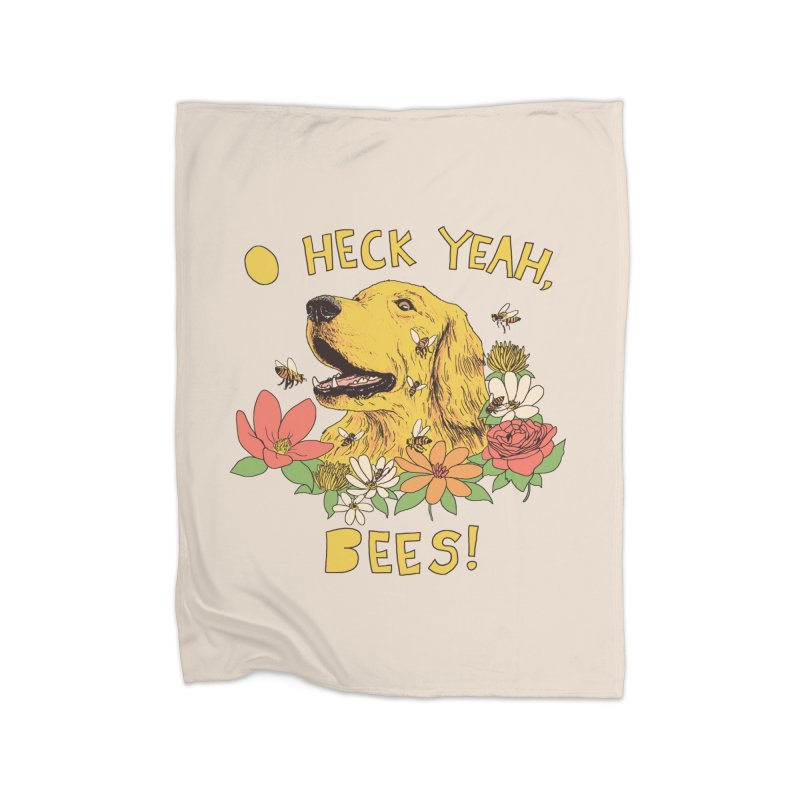 Spicy Dog Treats Home Blanket by Hillary White