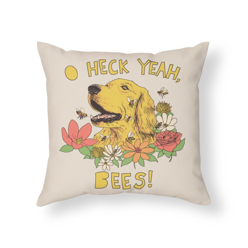 Spicy Dog Treats Home Throw Pillow by Hillary White