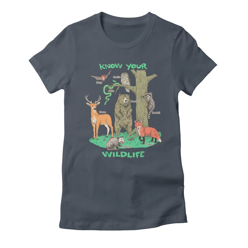 Know Your Wildlife Women's T-Shirt by Hillary White