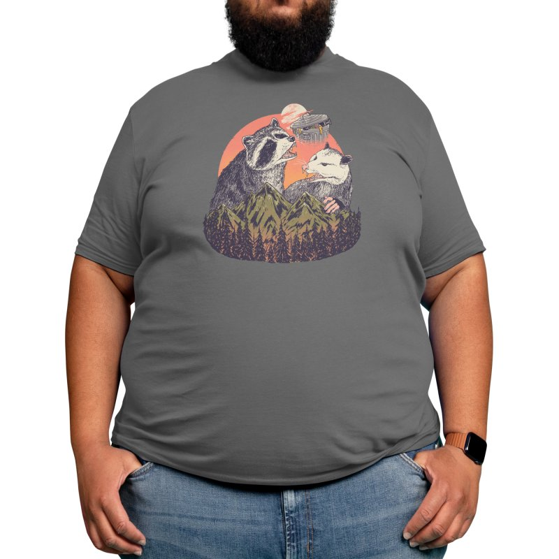 Majestic Trash Men's T-Shirt by Hillary White Rabbit