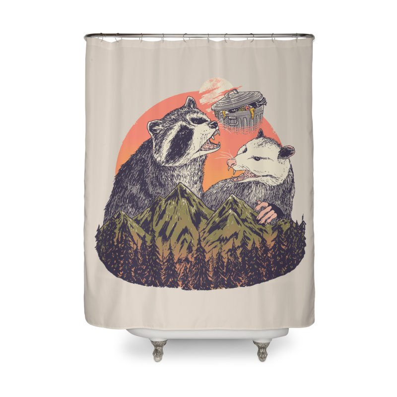 Majestic Trash Home Shower Curtain by Hillary White