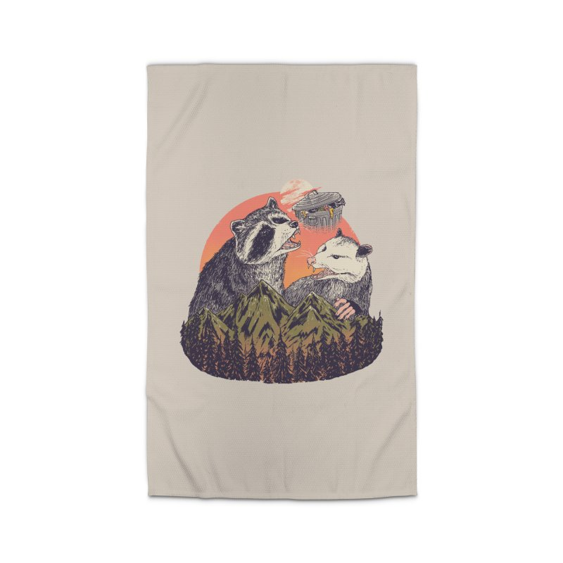 Majestic Trash Home Rug by Hillary White Rabbit