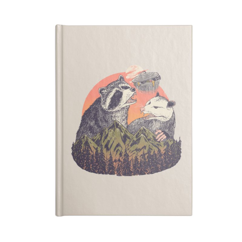Majestic Trash Accessories Notebook by Hillary White Rabbit