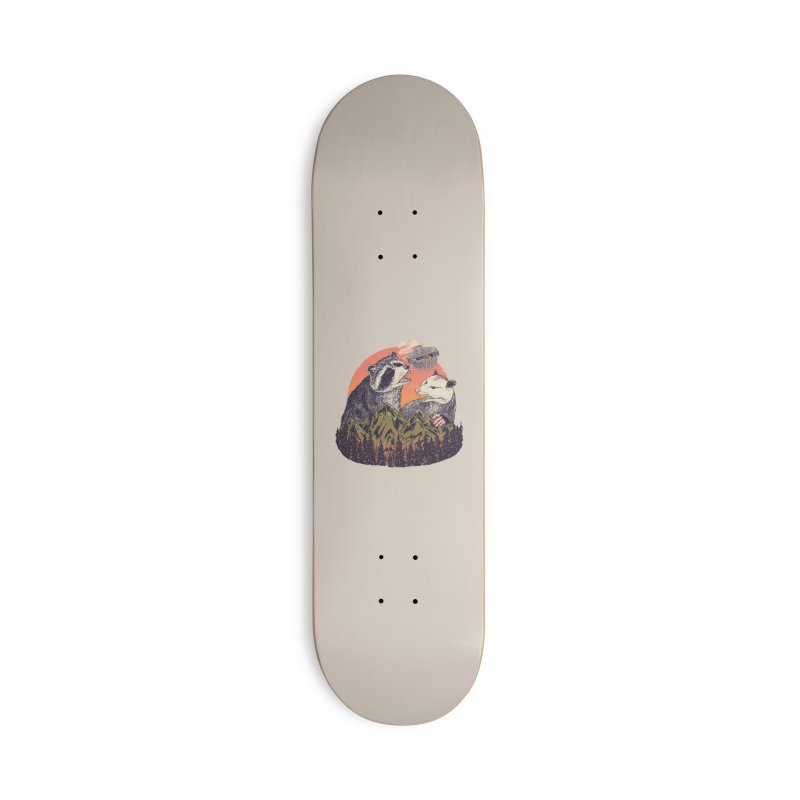 Majestic Trash Accessories Skateboard by Hillary White