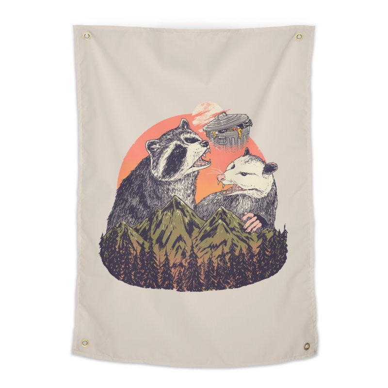 Majestic Trash Home Tapestry by Hillary White