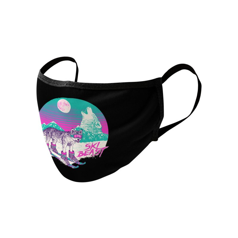 Ski Beast Accessories Face Mask by Hillary White