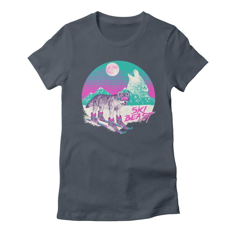 Ski Beast Women's T-Shirt by Hillary White