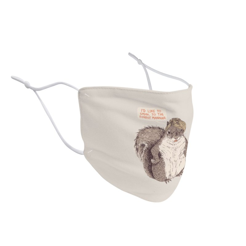 Forest Manager Accessories Face Mask by Hillary White Rabbit