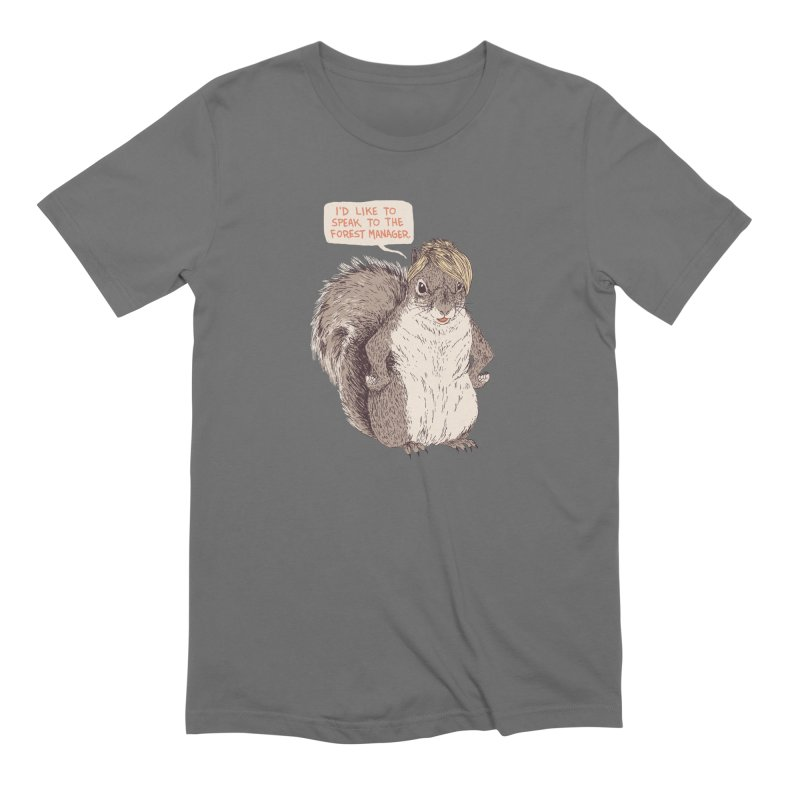 Forest Manager Men's T-Shirt by Hillary White