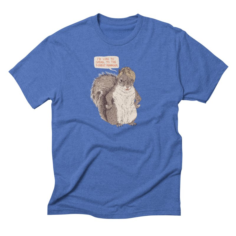 Forest Manager Men's T-Shirt by Hillary White Rabbit