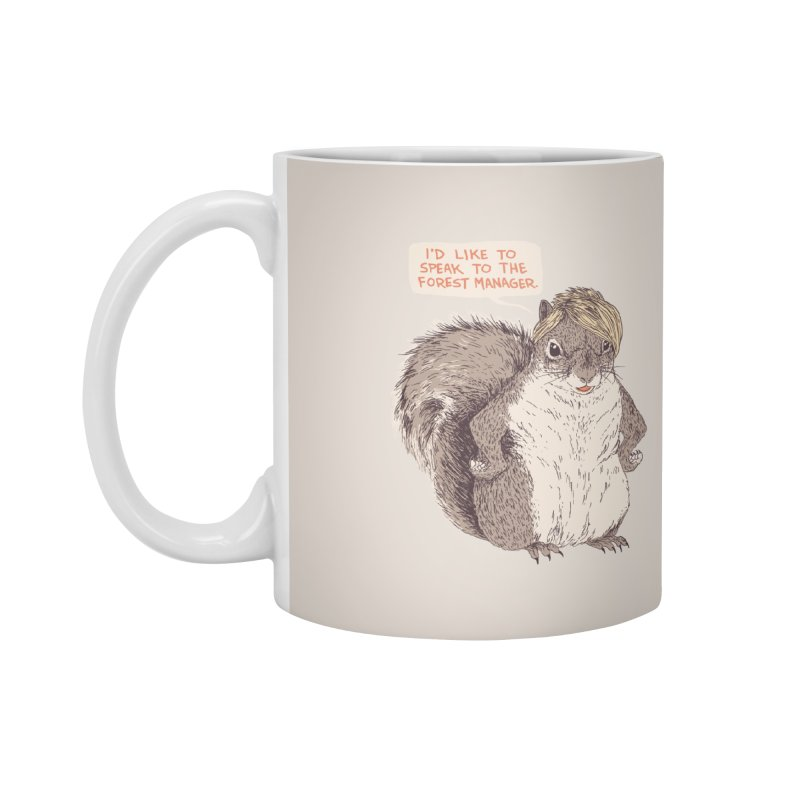 Forest Manager Accessories Mug by Hillary White Rabbit
