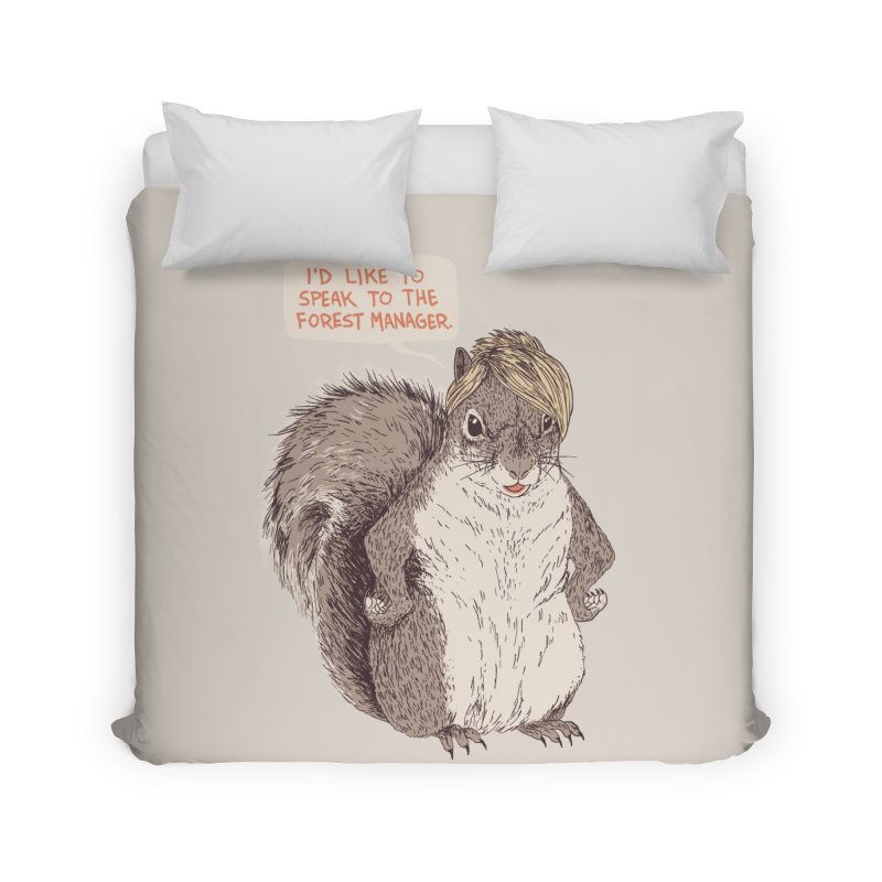 Forest Manager Home Duvet by Hillary White