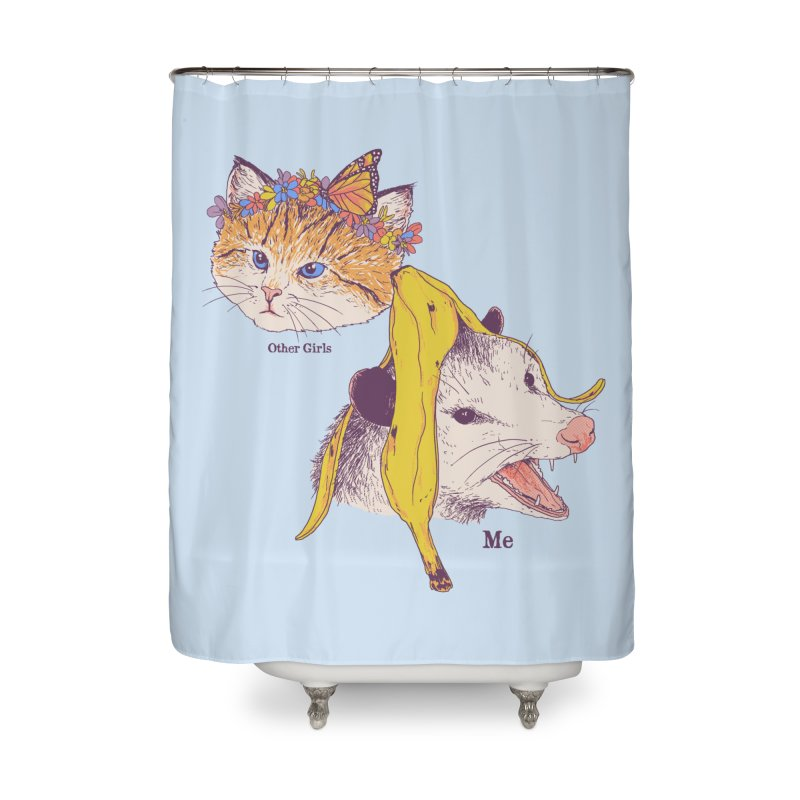 Not Like Other Girls Home Shower Curtain by Hillary White