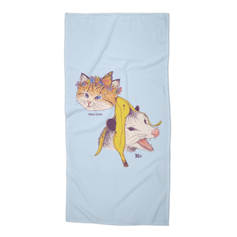 Not Like Other Girls Accessories Beach Towel by Hillary White