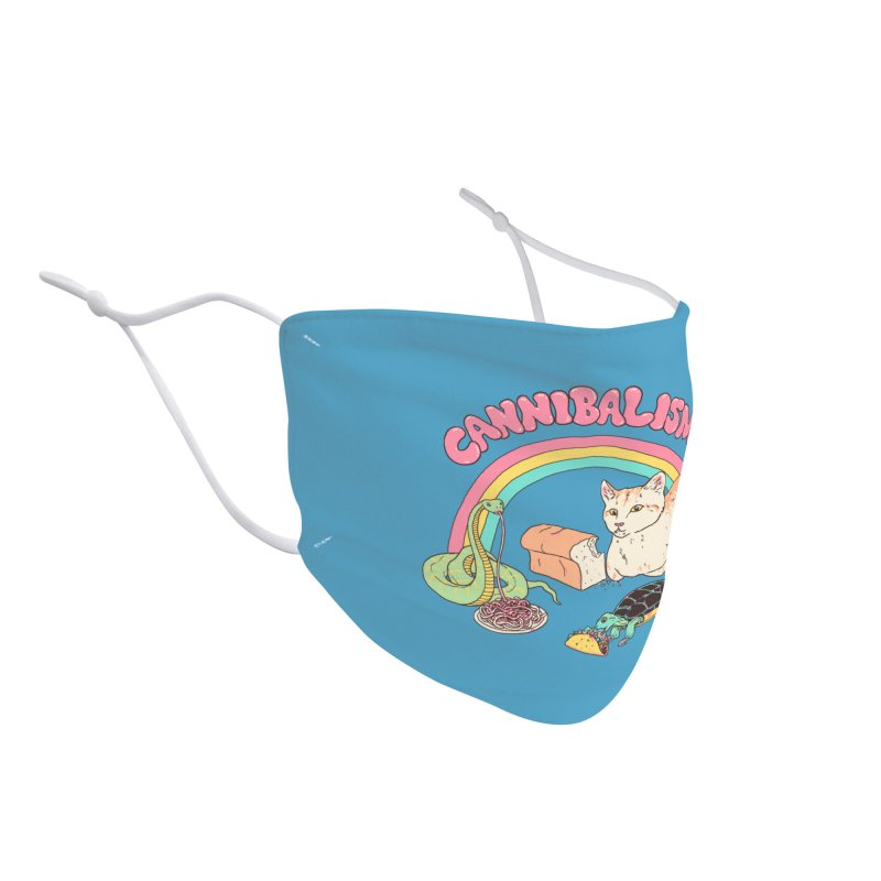 Cannibalism Accessories Face Mask by Hillary White Rabbit