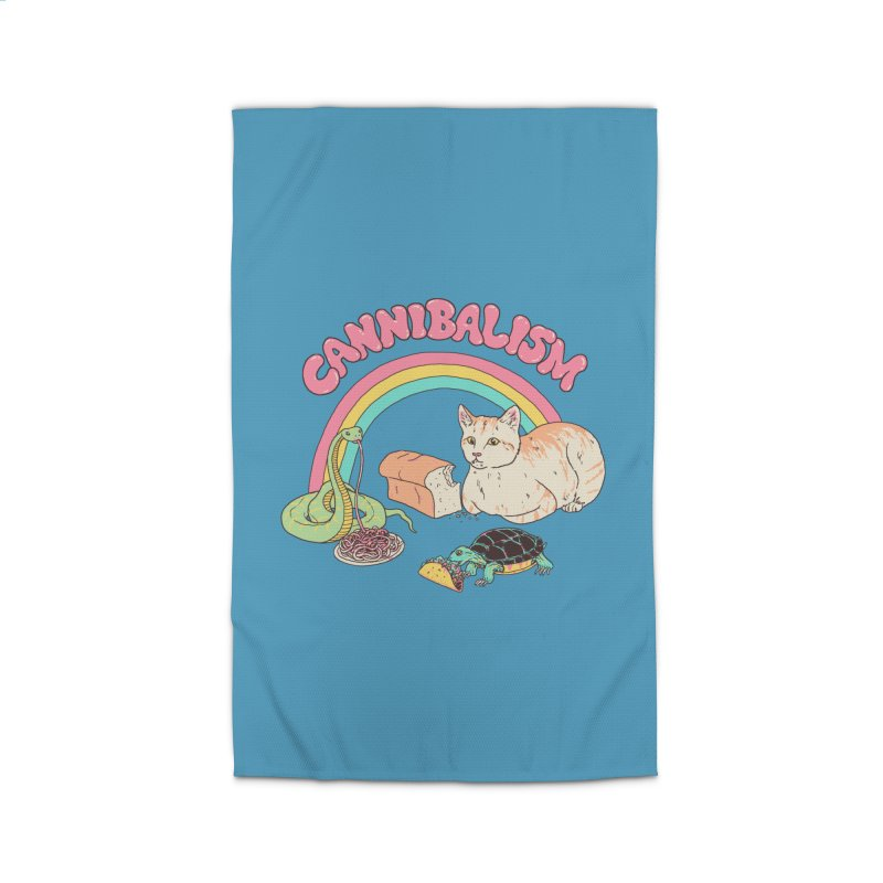 Cannibalism Home Rug by Hillary White