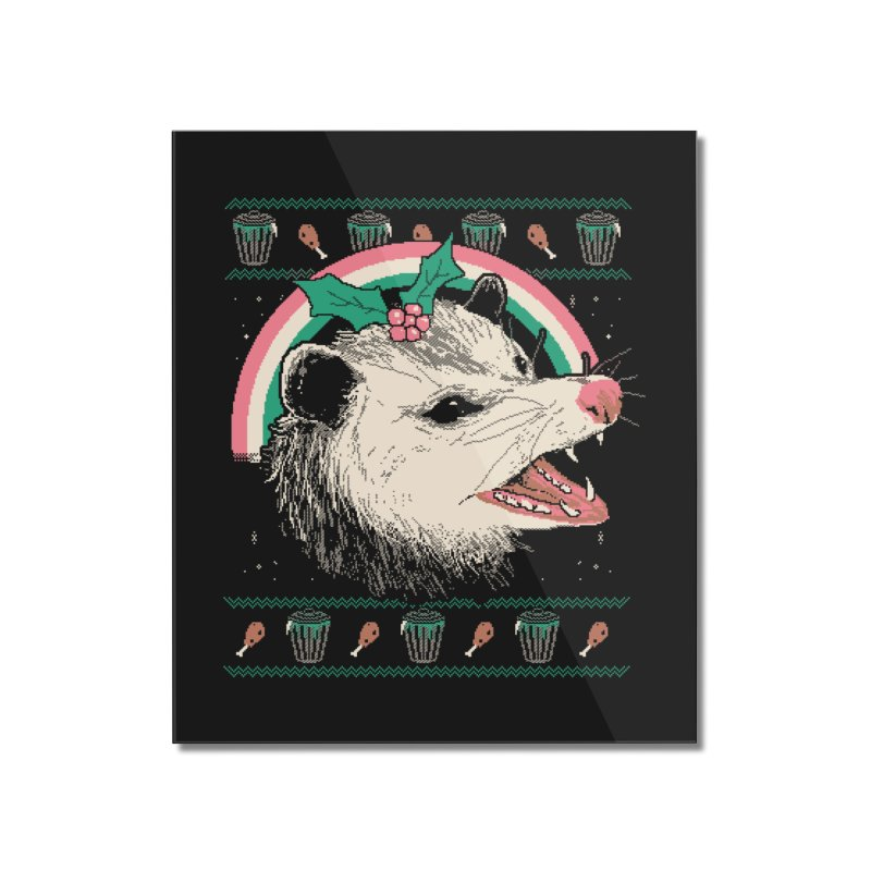 Trash The Halls Home Mounted Acrylic Print by Hillary White