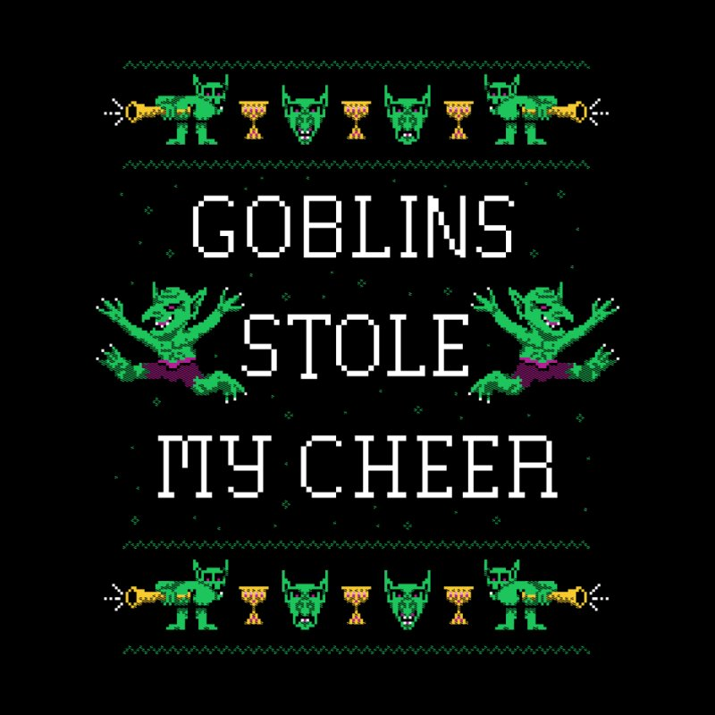 Goblins Stole My Cheer Men's Sweatshirt by Hillary White Rabbit