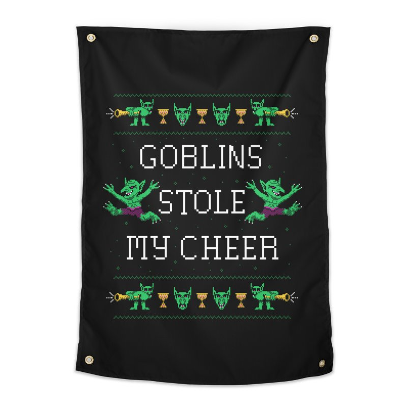 Goblins Stole My Cheer Home Tapestry by Hillary White