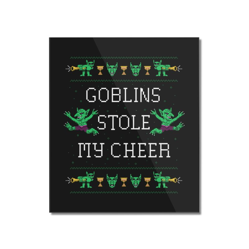 Goblins Stole My Cheer Home Mounted Acrylic Print by Hillary White