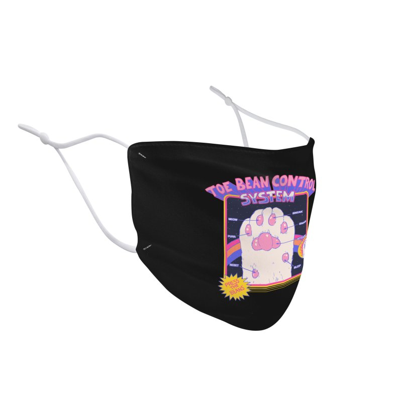 Toe Bean Control System Accessories Face Mask by Hillary White Rabbit