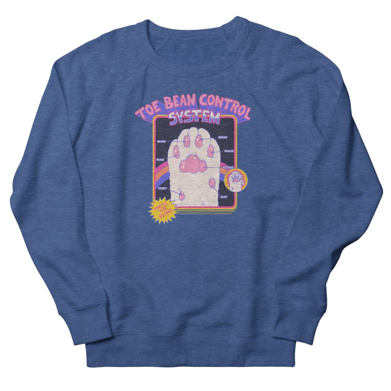 Toe Bean Control System Men's Sweatshirt by Hillary White Rabbit