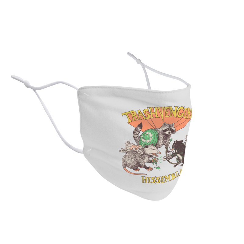 Trashvengers Accessories Face Mask by Hillary White Rabbit