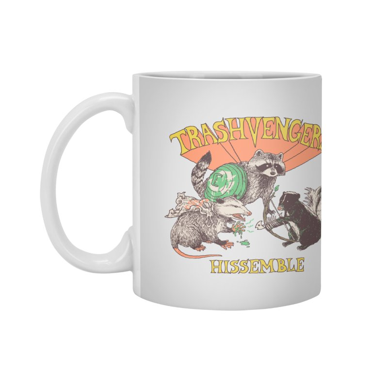 Trashvengers Accessories Mug by Hillary White Rabbit