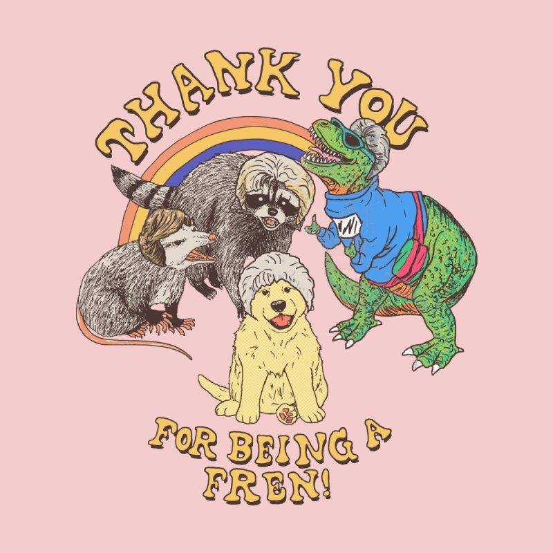 Thank You Fren Men's T-Shirt by Hillary White Rabbit