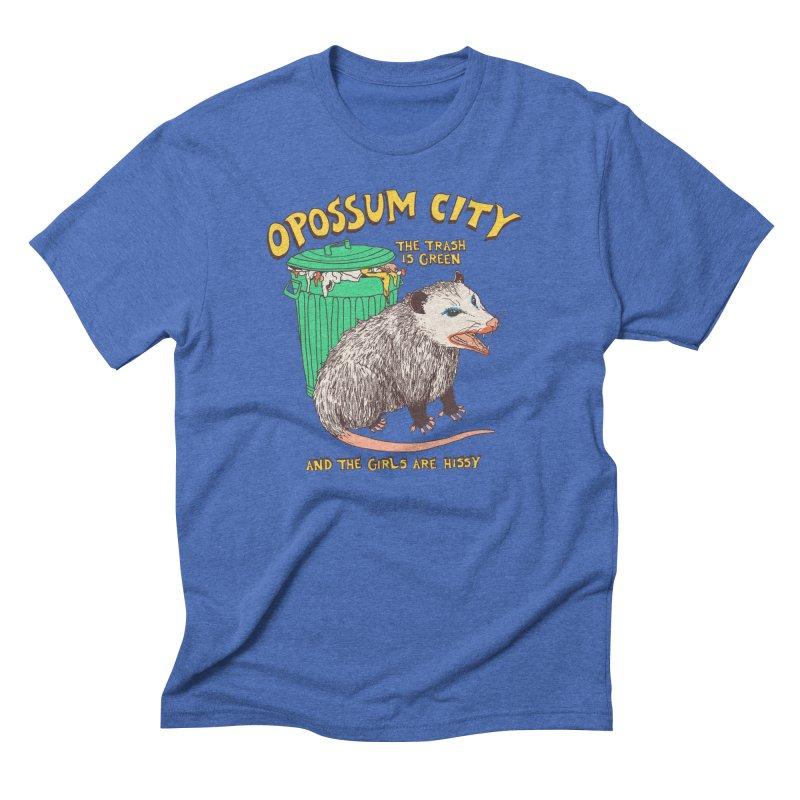 Opossum City Men's T-Shirt by Hillary White Rabbit