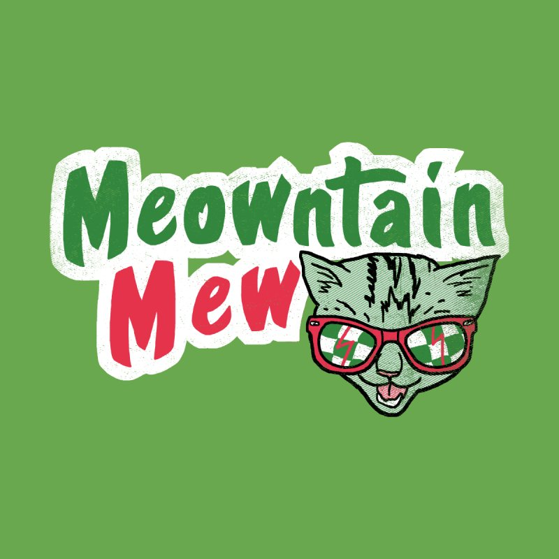 Meowntain Mew None  by hillarywhiterabbit's Artist Shop