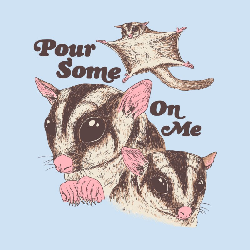 Sugar Gliders Accessories Face Mask by Hillary White Rabbit