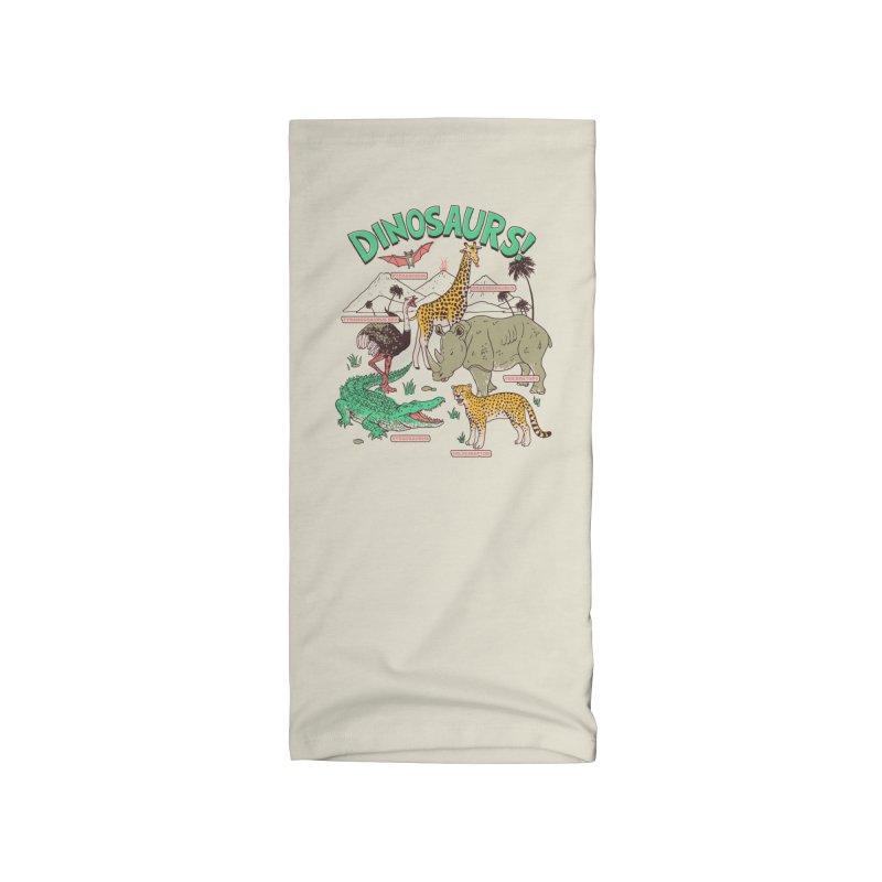 Dinosaurs! Accessories Neck Gaiter by Hillary White Rabbit