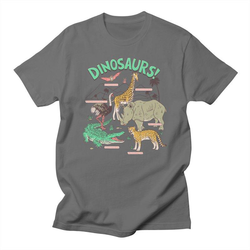 Dinosaurs! Men's T-Shirt by Hillary White Rabbit
