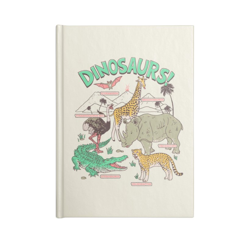 Dinosaurs! Accessories Notebook by Hillary White Rabbit