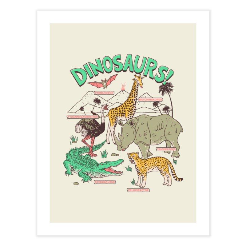 Dinosaurs! Home Fine Art Print by Hillary White Rabbit