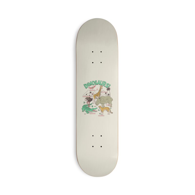 Dinosaurs! Accessories Skateboard by Hillary White Rabbit