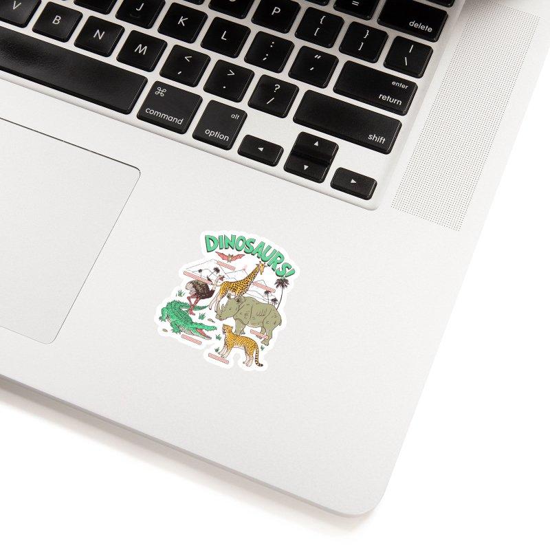 Dinosaurs! Accessories Sticker by Hillary White Rabbit