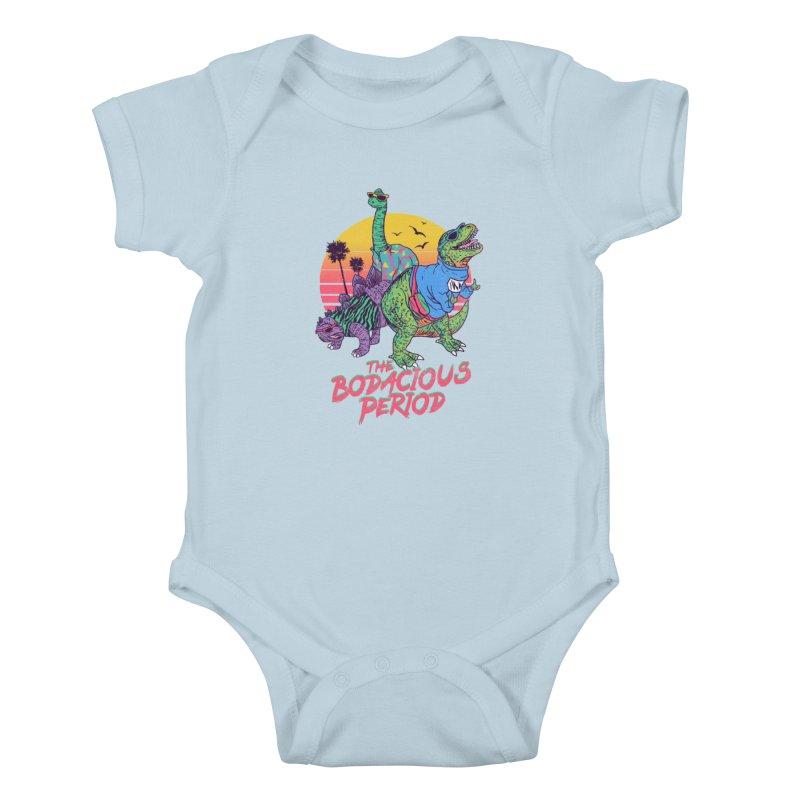 The Bodacious Period Kids Baby Bodysuit by Hillary White Rabbit