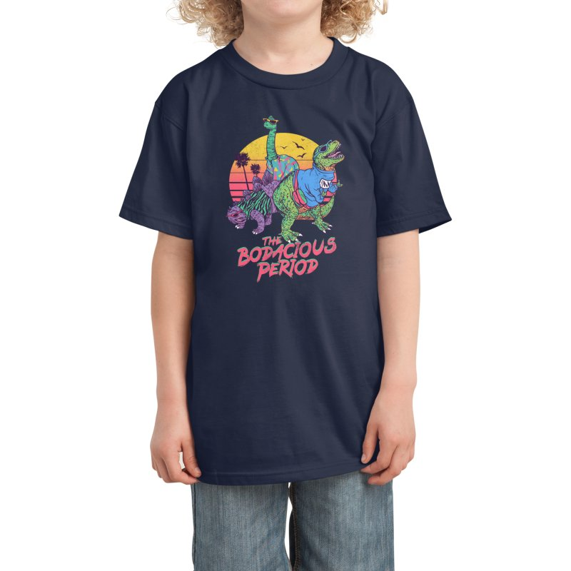 The Bodacious Period Kids T-Shirt by Hillary White Rabbit